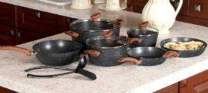 hot pan on granite counter
